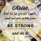 Die Verse und die Schriften über die Arbeit der Bibel