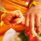 Indische Braut Hochzeit Schicksal. Hier ist der Grund