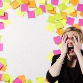 4 Zeichen Ihre Arbeit zu stressig ist