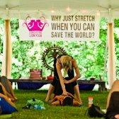 Eine Heilung für Angst Yoga-Lehrer-Leistung