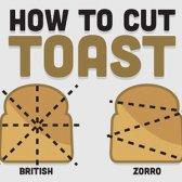 Eine visuelle Anleitung zu Toast Techniken geeignet Schnitt [Infografik]