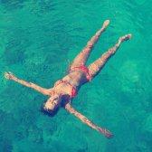 Anna Kaiser: gehen in das Wasser mindestens einmal pro Woche