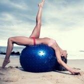 Anna Kaiser: Arbeit in Ihrem Bikini