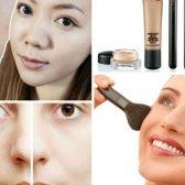 Abdeckung Narben und Flecken mit Make-up