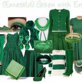 Smaragdgrün - die Farbe der Saison