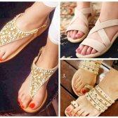 flache Schuhe für den Sommer