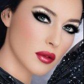 Glam-Look mit präzisen Nuancen