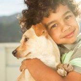 Haustiere gut für Kinder