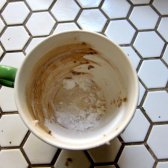 Kommentar Saubere Tassen Kaffee Flecken