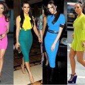 Wie ein Neon-Kleid richtig zu tragen