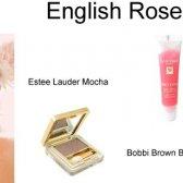 Wie Make-up English Rose zu tragen