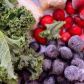 Kale und Smoothies Cranberry