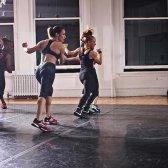 Hard Candy Fitness Madonna beherbergt Klassen in New York zum ersten Mal