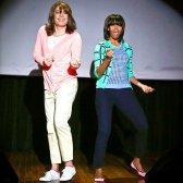 Michelle Obama sprengt eine Bewegung mit Jimmy Fallon