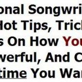Professionelle Download Review Songwriting Geheimnisse - ist es zuverlässig?