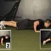 Push-up Training Variationen Brust und Arme