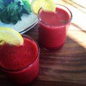 Rezept: Himbeer-Limonade Smoothies Frühling sauber