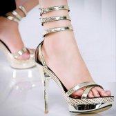 Ivory trägerlos Schuhe