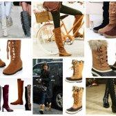 modische Stiefel für den Winter