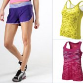 Sommer Runnin ': Panzer und Shorts werden immer leicht und hell