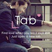 Tab-Dating ist eine neue integrierte Anwendung erfüllt Ihrem Browser!