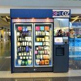 Automatische Flughafen-Maschine, die natürliche Schönheit Produkte vertreibt