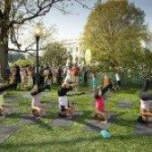 Die erste Familie Yoga