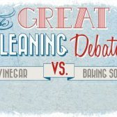 Die große Debatte Reinigung: Essig vs Backpulver