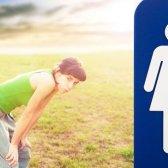 Warum einige Frauen während des Trainings pinkeln