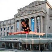 Yoga im Brooklyn Museum