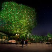 Landschaftsbau mit Lasern