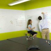 Whiteboard Tapeten Installationsschritte