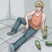 Magenschmerzen nach dem Trinken von Alkohol