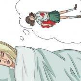 Was bedeutet es, wenn man über jemanden sterben träumen?