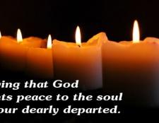Verse und schreibt für die Beerdigung der Bibel