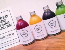 Eine Marke der in Melbourne ansässigen Saft, inspiriert von Manhattan