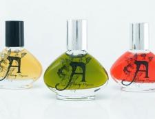 Ein perfekter Duft: ein Parfüm Süchtigen gehen organisch