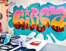 Ein Pop-up-Shop und Kunst Wellness-Hip-Hop öffnet sich in der South Bronx