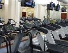 Wir waren zu Baby run.from unsere Ehepartner in einem Fitness-Studio nj geboren
