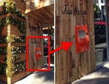 Beverly Hills empfängt ein ATM-Saft
