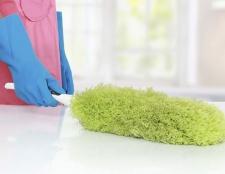 8 Reinigen Sie die staubigen Bereichen Ihres Hauses