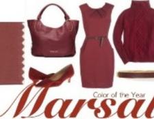 Farbe des Jahres 2015 - Marsala