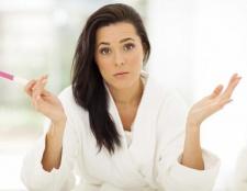 Mit der Schwangerschaft Symptome, aber die negativen Test