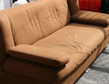 Kommentar UN Sauber Mikrofaser Sofa
