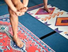 Wie wirklich zu reinigen Ihre Yoga-Matte