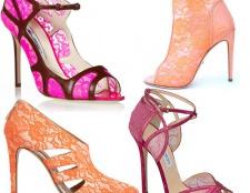 Jimmy Choo Sammlung von bunten Schuhe