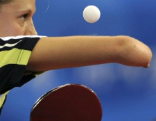 Tischtennis in der Turnhalle: Zimmer oder Training Gespräch?