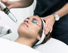 Wäsche Haut möchte, dass Sie einwandfreie Haut mit einem Laser zu geben und ein Licht