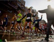 Studienraum: Marathonläufer sind nur ein geringes Risiko für Herzinfarkt