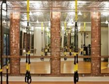 Die neue Gruppe Fitness-Studio, das überwacht die Herzfrequenz in jeder Klasse verwendet